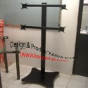 Bracket Floor Stand LCD 4 Monitor