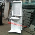 Trolly Stand Monitor, CPU dan Keyboard