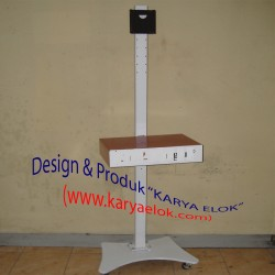 Standing Floor LCD Monitor - Rak Audio