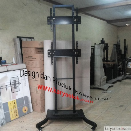 Standing TV 2 Display Vertkal
