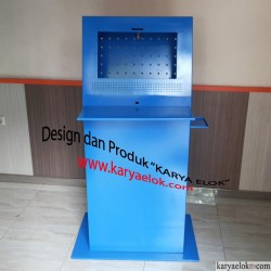 Kiosk Monitor, PC, dan Printer