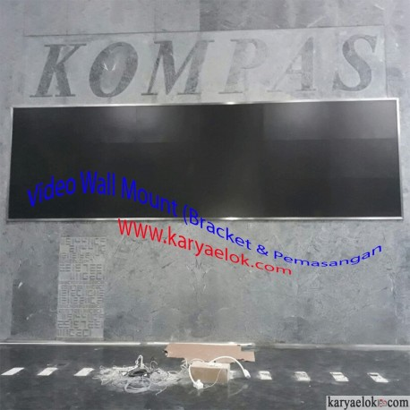Video Wall Mount (Bracket & Pemasangan)