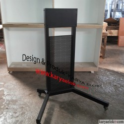 Stand Papan Interaktif/ Trolly Stand Interactive Whiteboard Monitor