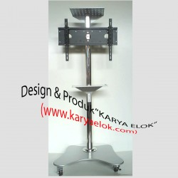Floor Stand LCD/Plasma TV & Rak Audio Camera Conference