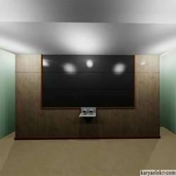 Bracket Video Wall (Desain, Produk, dan Pemasangan)