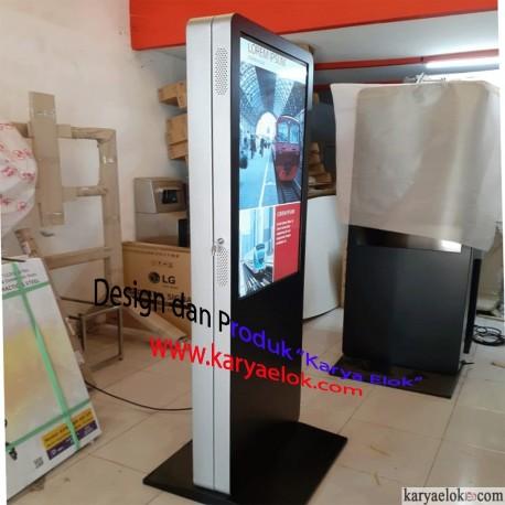 Kiosk Box LCD/LED 2 (dua) Sisi Display