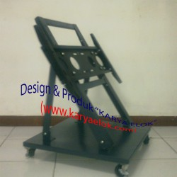 Floor Stand LCD TV