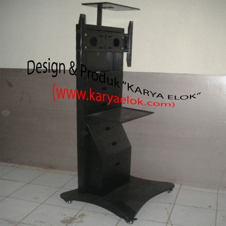 FLOOR STAND & RAK AUDIO-VIDEO CONFERENCE [Blak Dop]