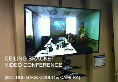 Ceiling Video Conference